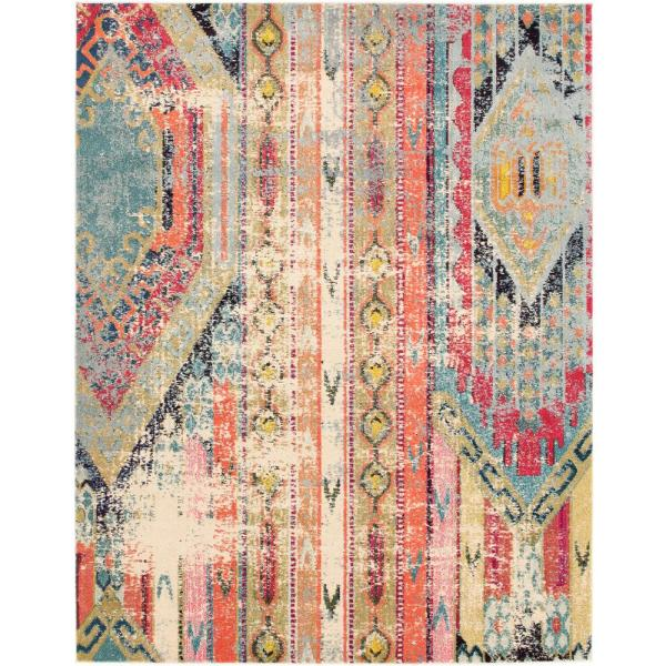 Sedona Yosemite Multi 8 ft. x 10 ft. Area Rug