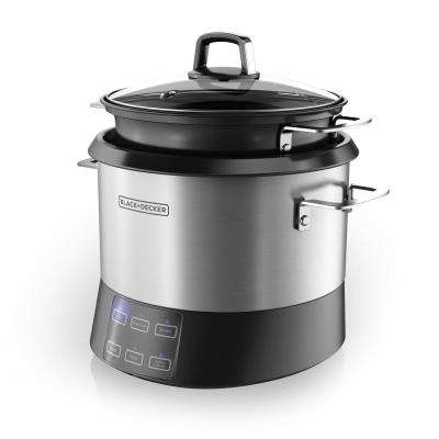 6-in-1 Stirring Rice and Risotto Cooker (20-Cup)