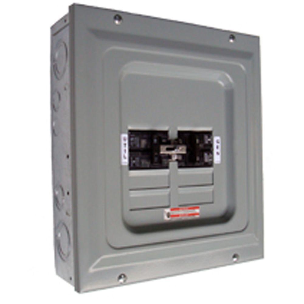 60-Amp 2,500-Watt Single Load Manual Transfer Switch