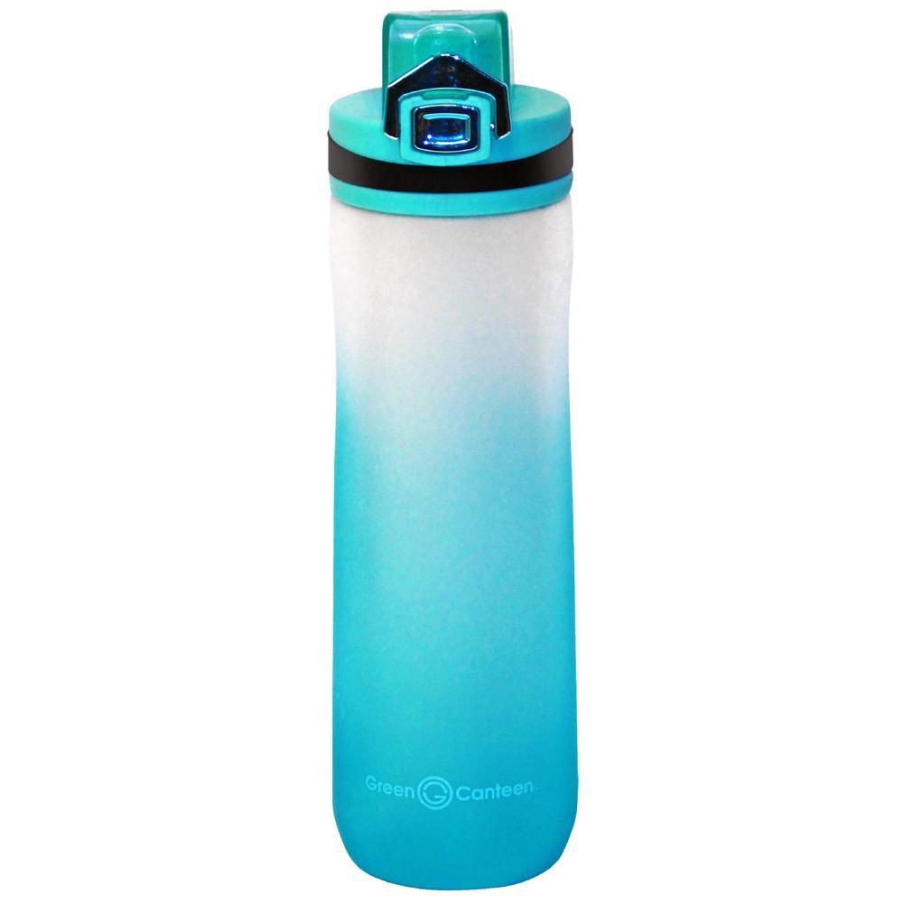 22 oz. Frosted Blue Plastic Tritan Hydration Bottle (6-Pack)