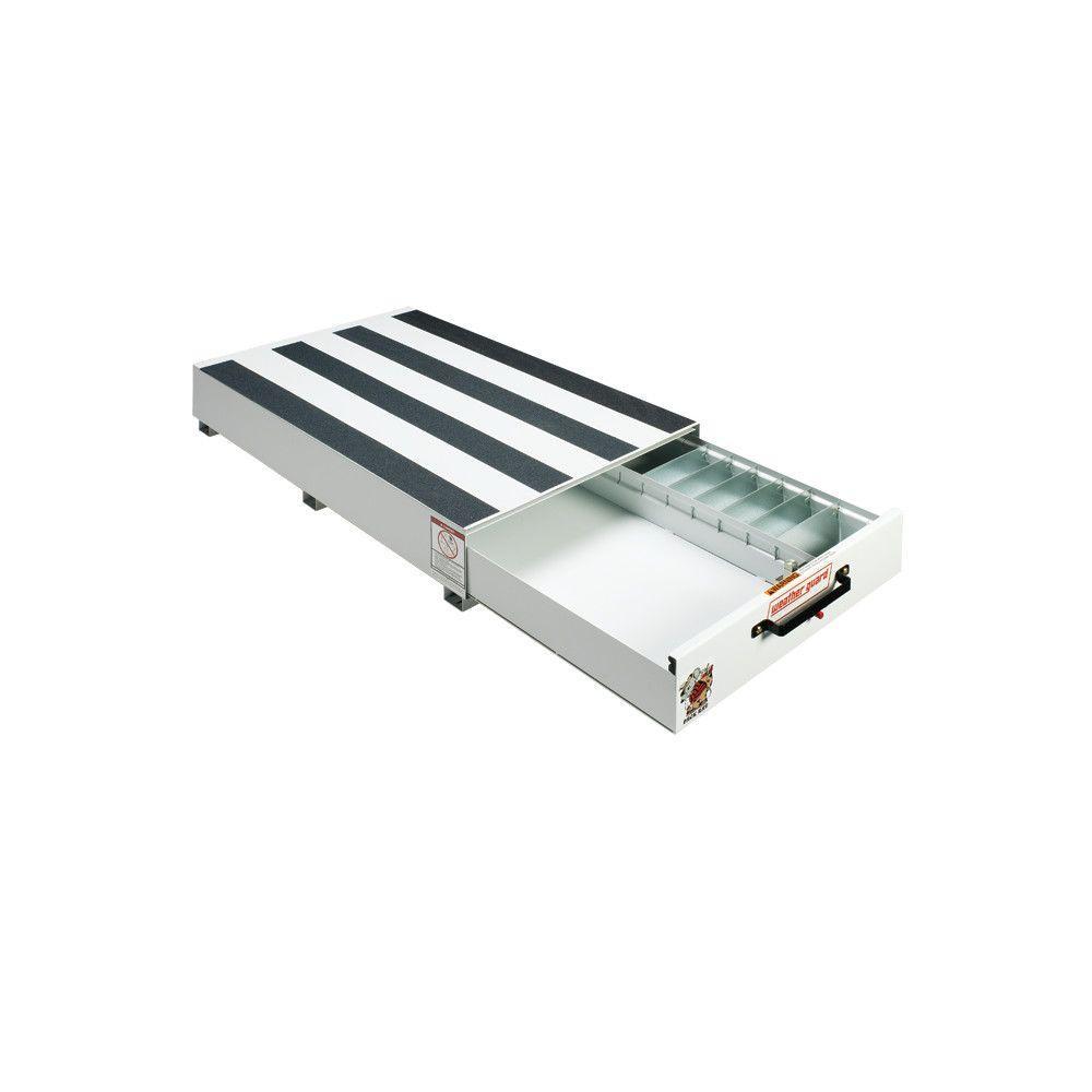 30.5 in. Steel Pack Rat Drawer Unit in Brite White