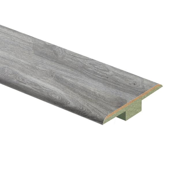 Silverton Oak 7/16 in. T x 1-3/4 in. Wide x 72 in. Length Laminate T-Molding