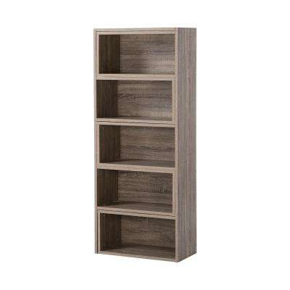 Reclaimed Wood Open Bookcase