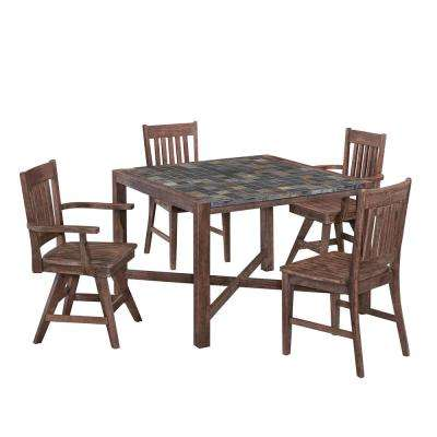 Morocco 5 Piece Patio Dining Set. Wood Patio Furniture   Home Styles   Patio Furniture   Outdoors