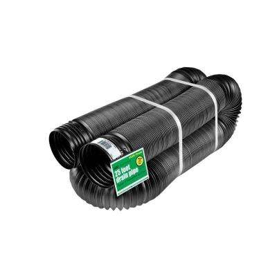4 in. x 25 ft. Solid Polypropylene Pipe
