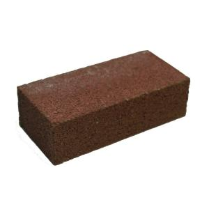 4 in x 2 in x 8 in red concrete brick 100003009 the home depot. Black Bedroom Furniture Sets. Home Design Ideas