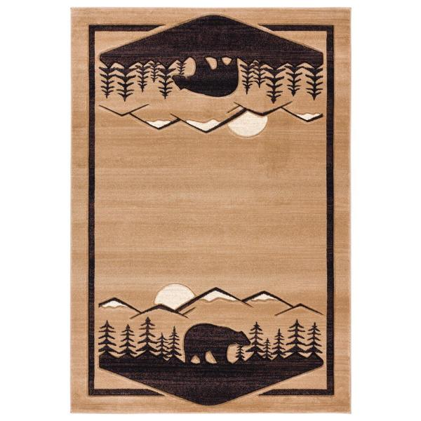 United Weavers Cottage Treetops Beige 1 Ft 10 In X 2 Ft 8 In Accent Rug 2055 41226 24 The Home Depot
