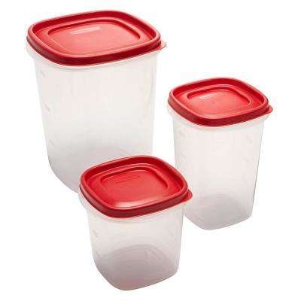 Easy Find Lids 6-Piece Food Storage Container Set