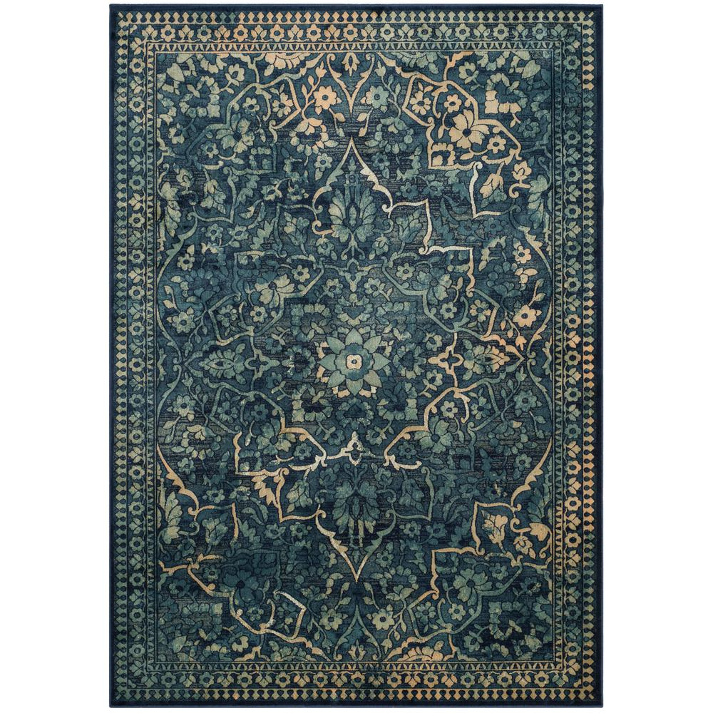 Safavieh Vintage Blue Yellow 5 Ft 3 In X 7 Ft 6 In