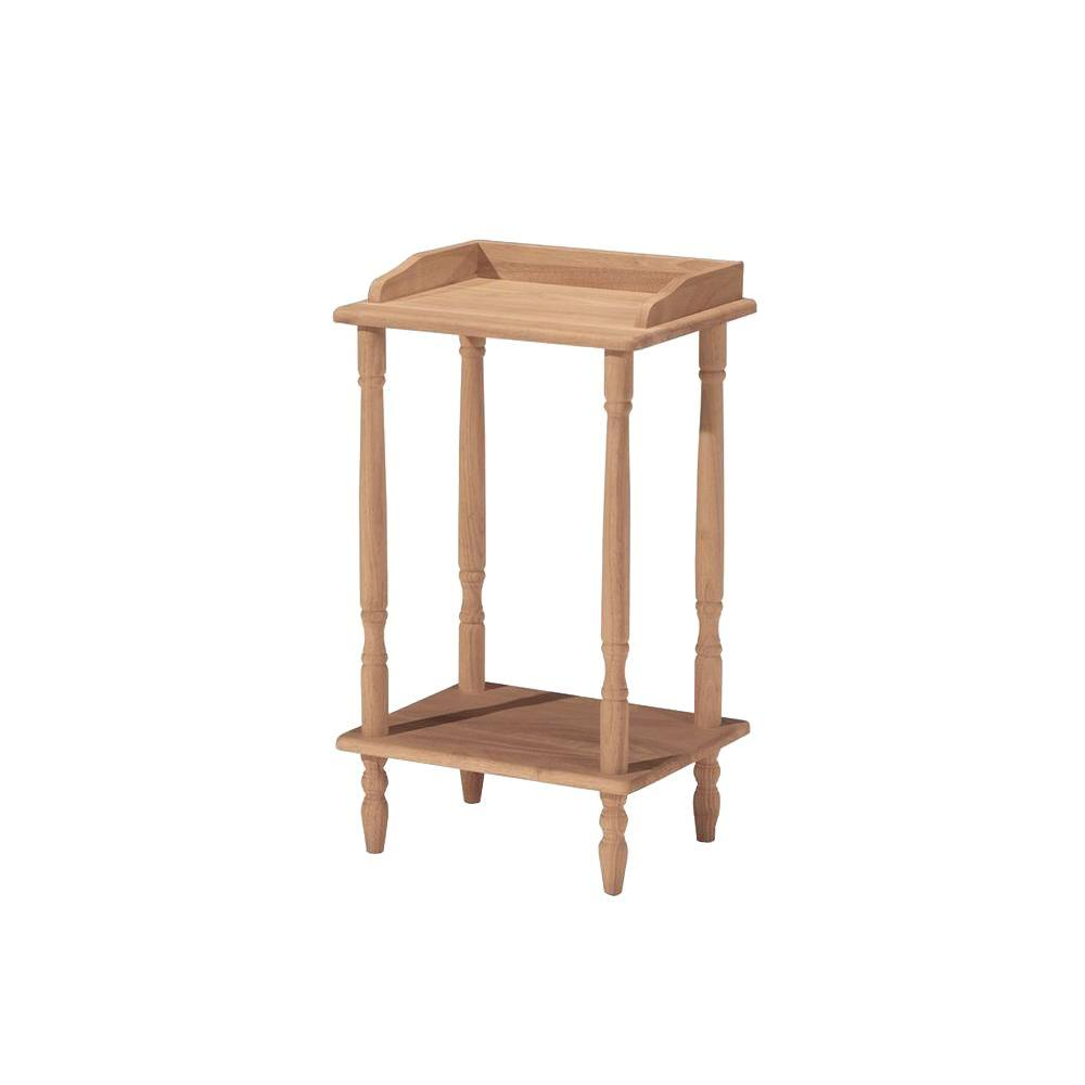 International Concepts Unfinished End Table Ot 94 The