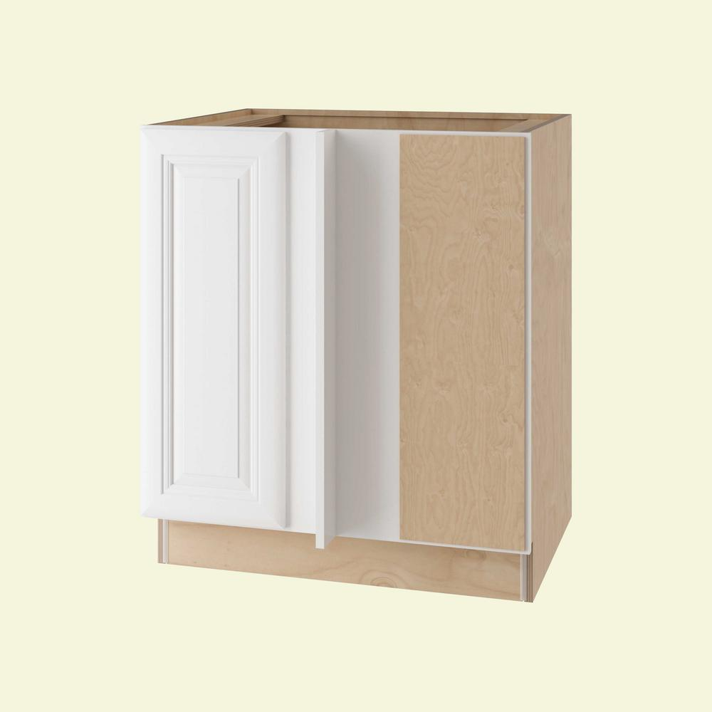 Brookfield Assembled 30x34.5x24 in. Single Door Hinge Right Base Kitchen Blind