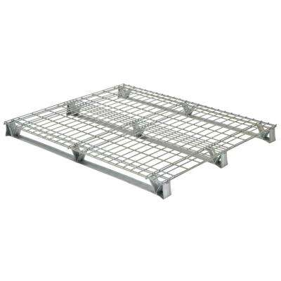 48 in. x 48 in. x 4 in. Galvanized Steel Welded Wire Pallet