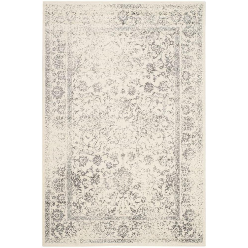 safavieh adirondack ivorysilver 10 ft x 14 ft area rug