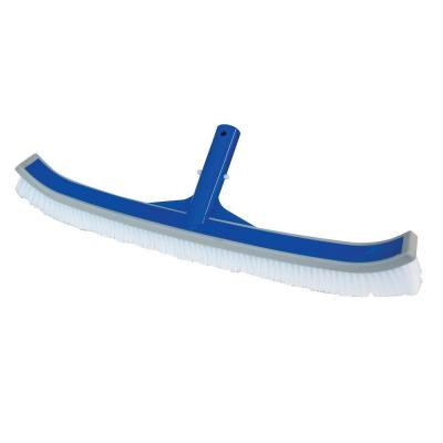 Classic 18 inch Vinyl Liner Swimming Pool Brush with Bumper