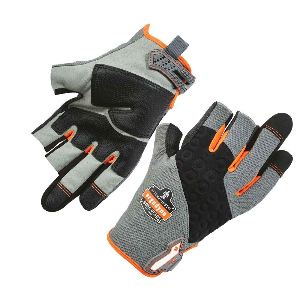 ProFlex Large Gray Heavy-Duty Framing Work Gloves