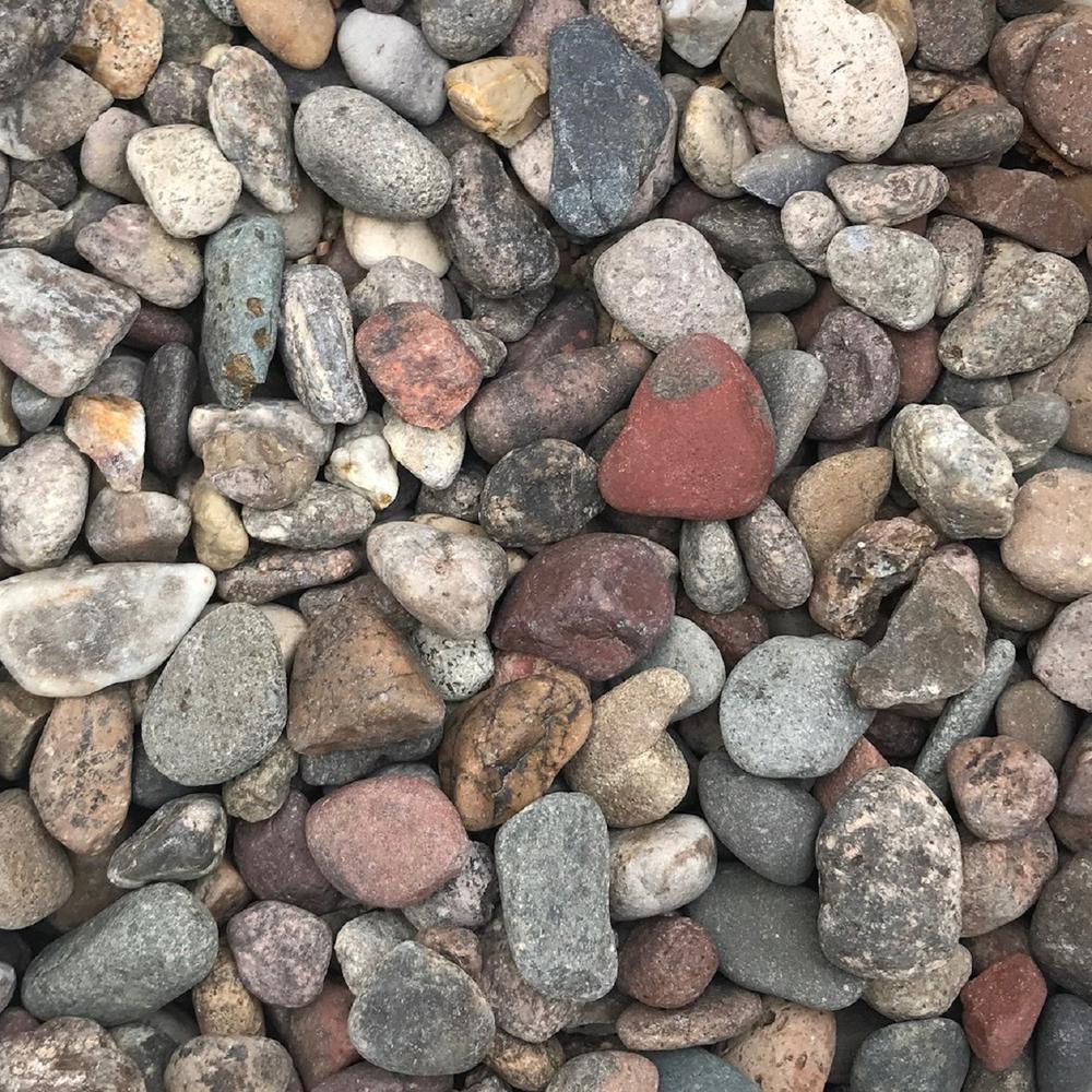 0.50 ... - River Rock - Landscape Rocks - Hardscapes - The Home Depot