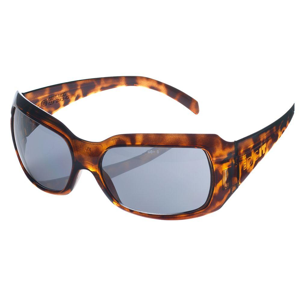 Dig It Indoor/Outdoor Tortoise Frame Smoke Lens Safety Sun Eye Wear ...