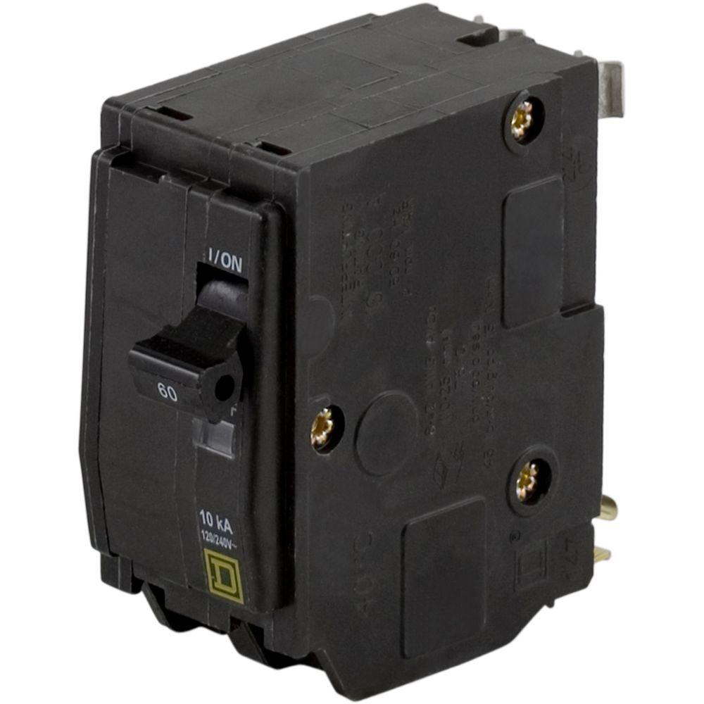 PKG OF 5 NSMP SQUARE D QO260CP 60A 120//240V