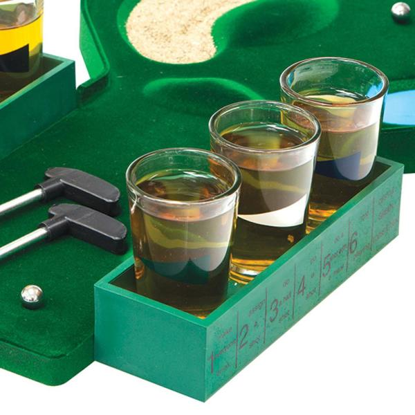 HOME ESSENTIALS AND BEYOND-Golf Shot Party Game Set