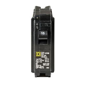 square d 1 pole breakers hom115cp 64_300 square d homeline 20 amp single pole afci circuit breaker  at nearapp.co
