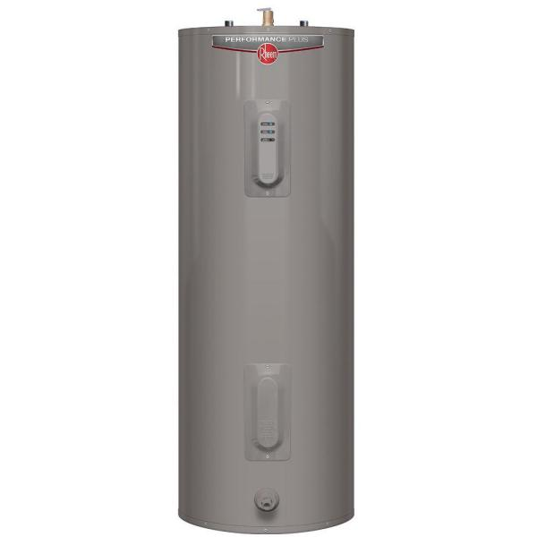 Performance Plus 50 Gal. Tall 9 Year 4500/4500-Watt Elements Electric Tank Water Heater with LED Indicator