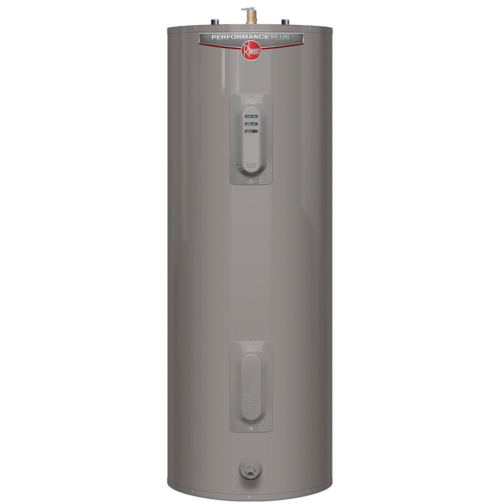 RHEEM Performance Plus 40 Gal. Tall 9-Year 4500/4500-Watt...