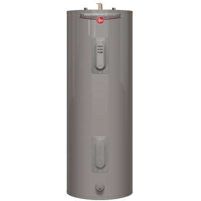 Performance Plus 40 Gal. Tall 9-Year 4500/4500-Watt Elements Electric Water Heater with LED Indicator