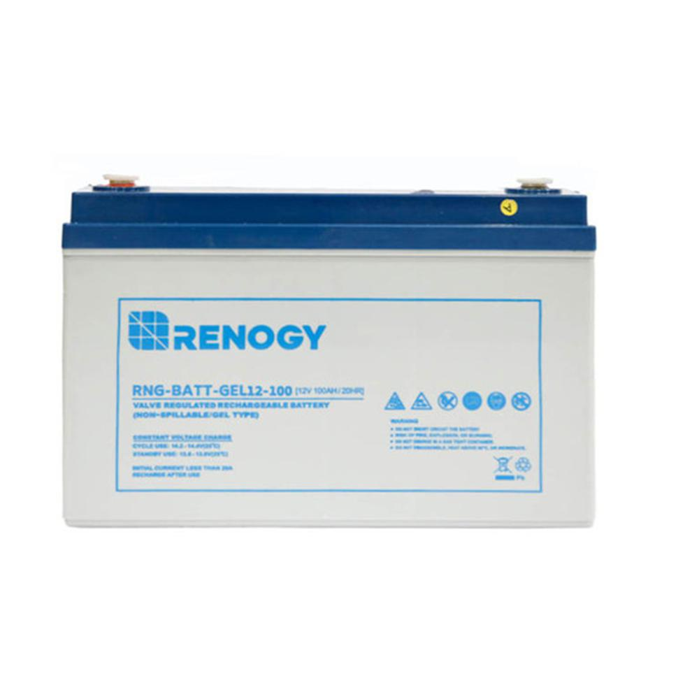 12-Volt 100Ah Deep Cycle Pure GEL Battery for Solar Panels