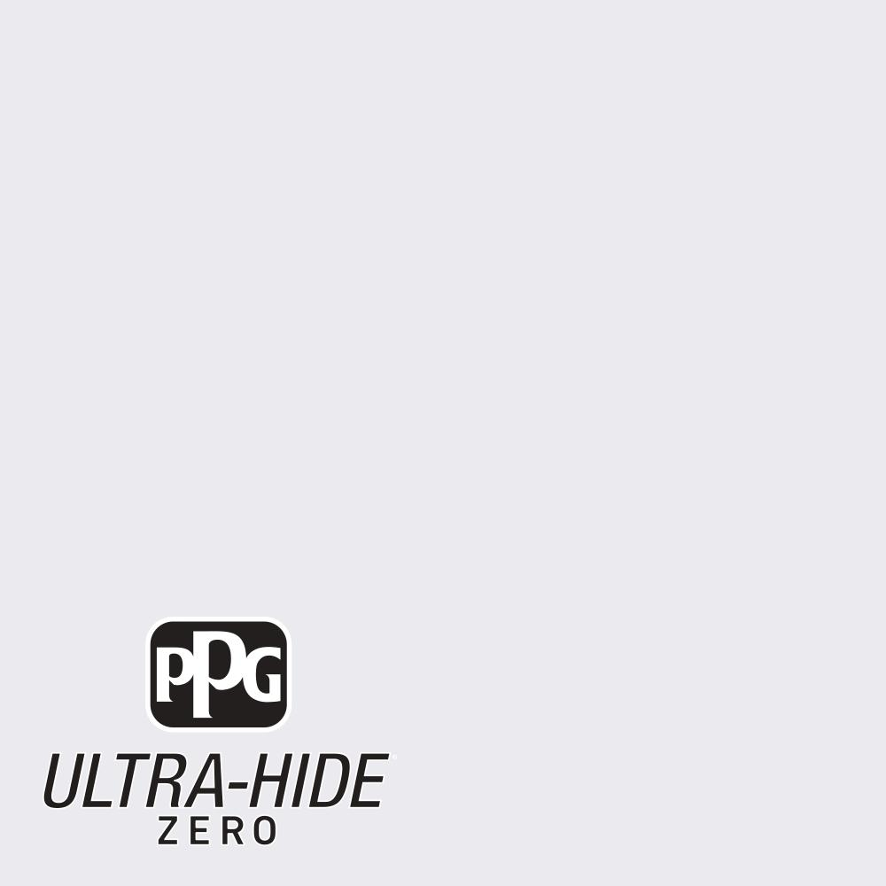 PPG 5 gal. #HDPV43U Ultra-Hide Zero Ice Mist Flat Interior Paint