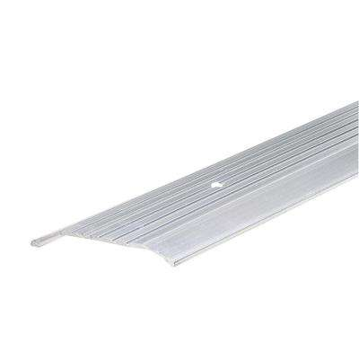 1/2 in. x 3-7/8 in. x 36 in. Fluted Top Extruded Aluminum Saddle Threshold