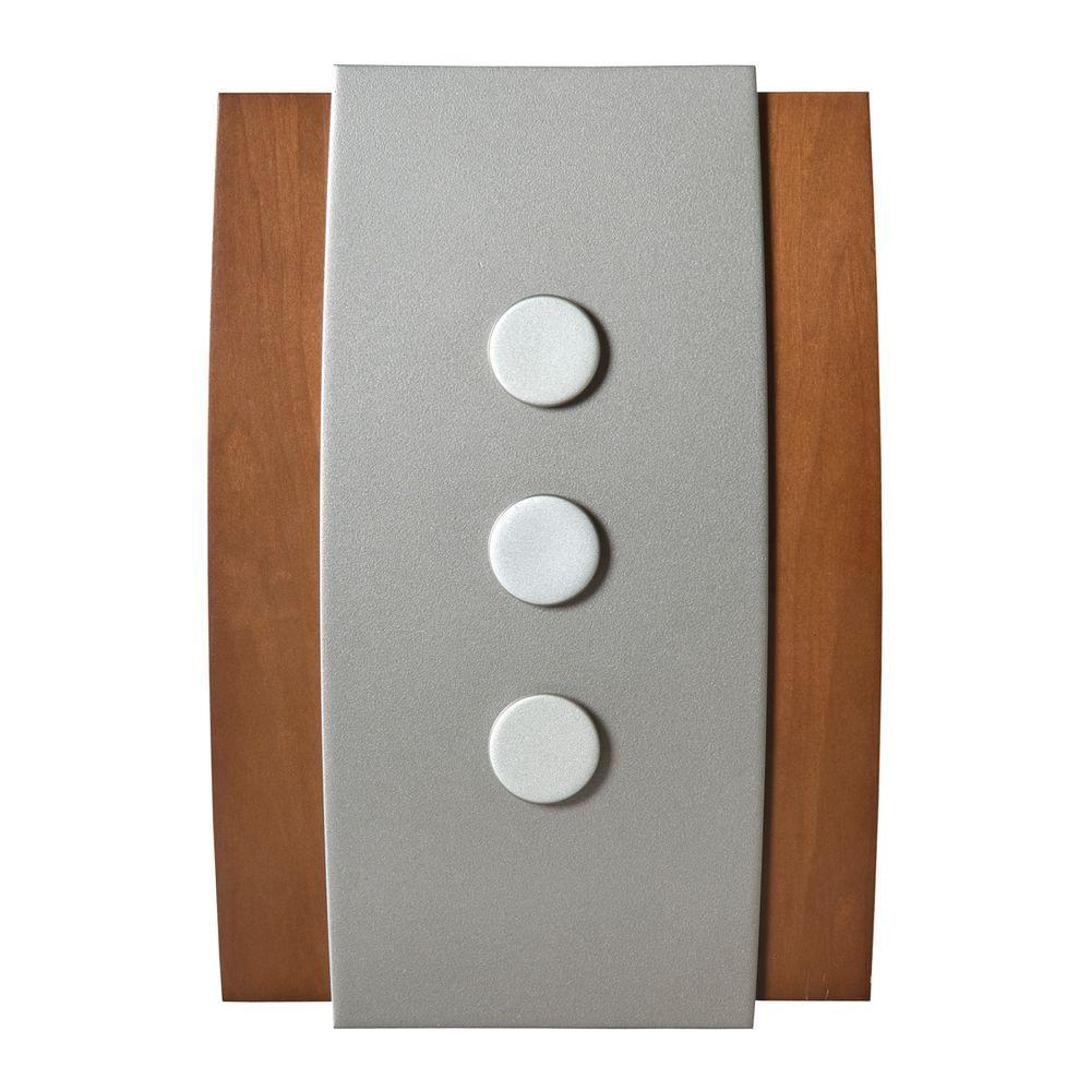 Honeywell Add-on / Replacement Wireless Door Chime, White, Push