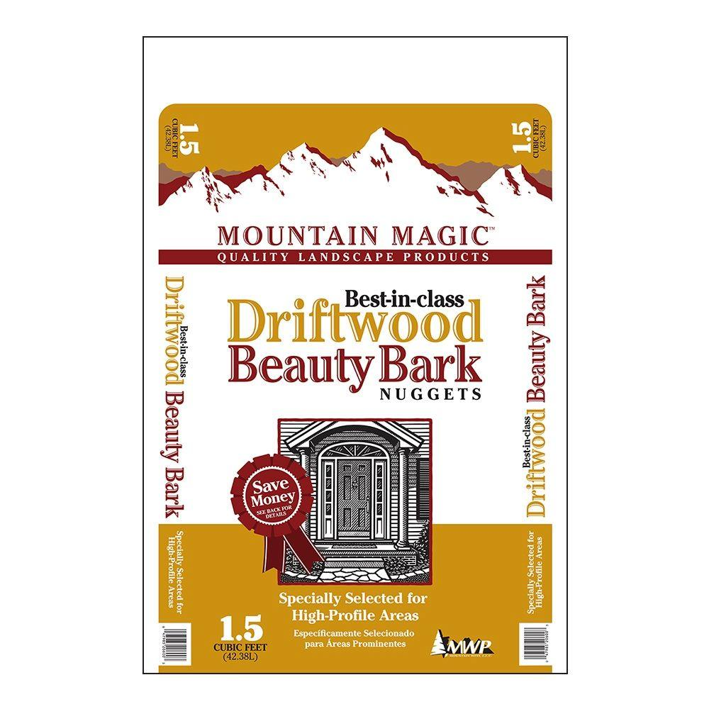 Mountain Magic 1.5 cu. ft. Driftwood Nuggets-MMBDN1.5 - The Home Depot