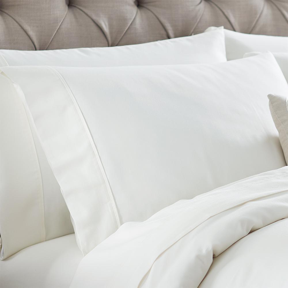 Naples Ivory Tusk King Pillowcases (2-Pack)
