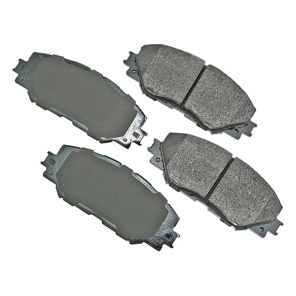 Disc Brake Pad Set-ProACT Ultra Premium Ceramic Pads Rear Akebono ACT1283