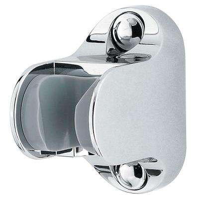 16-Series Adjustable Shower Wall Mount in Polished Chrome