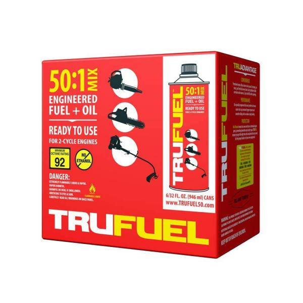 TruFuel TruFuel 50:1 Pre Mixed Fuel (6-Pack)