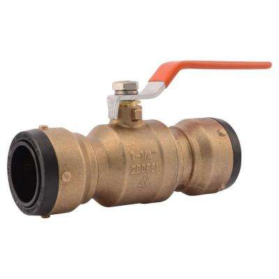 1-1/4 in. Brass Push-to-Connect Ball Valve