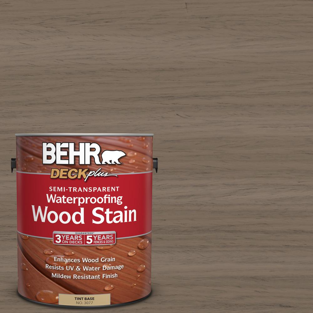 1 gal. #ST-159 Boot Hill Grey Semi-Transparent Waterproofing Wood Stain