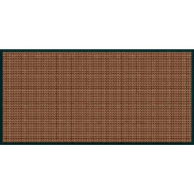 WaterGuard Dark Brown Motorcycle 35.25 in. x 97 in. Landing Pad