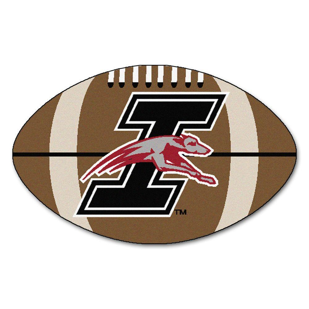 Ncaa University of Indianapolis Brown 1 ft. 10 in. x 2 ft. 11 in. Specialty Accent Rug