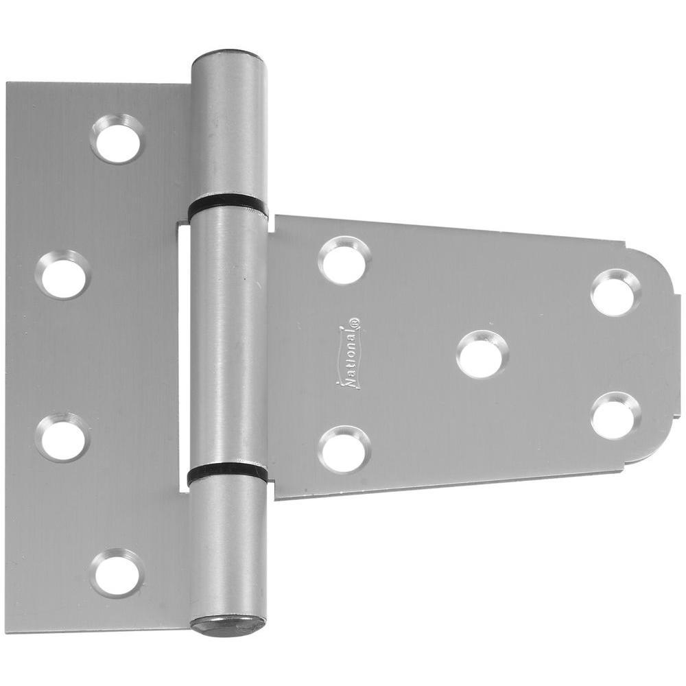 National Hardware 3 1 2 In Aluminum Vinyl Gate T Hinge