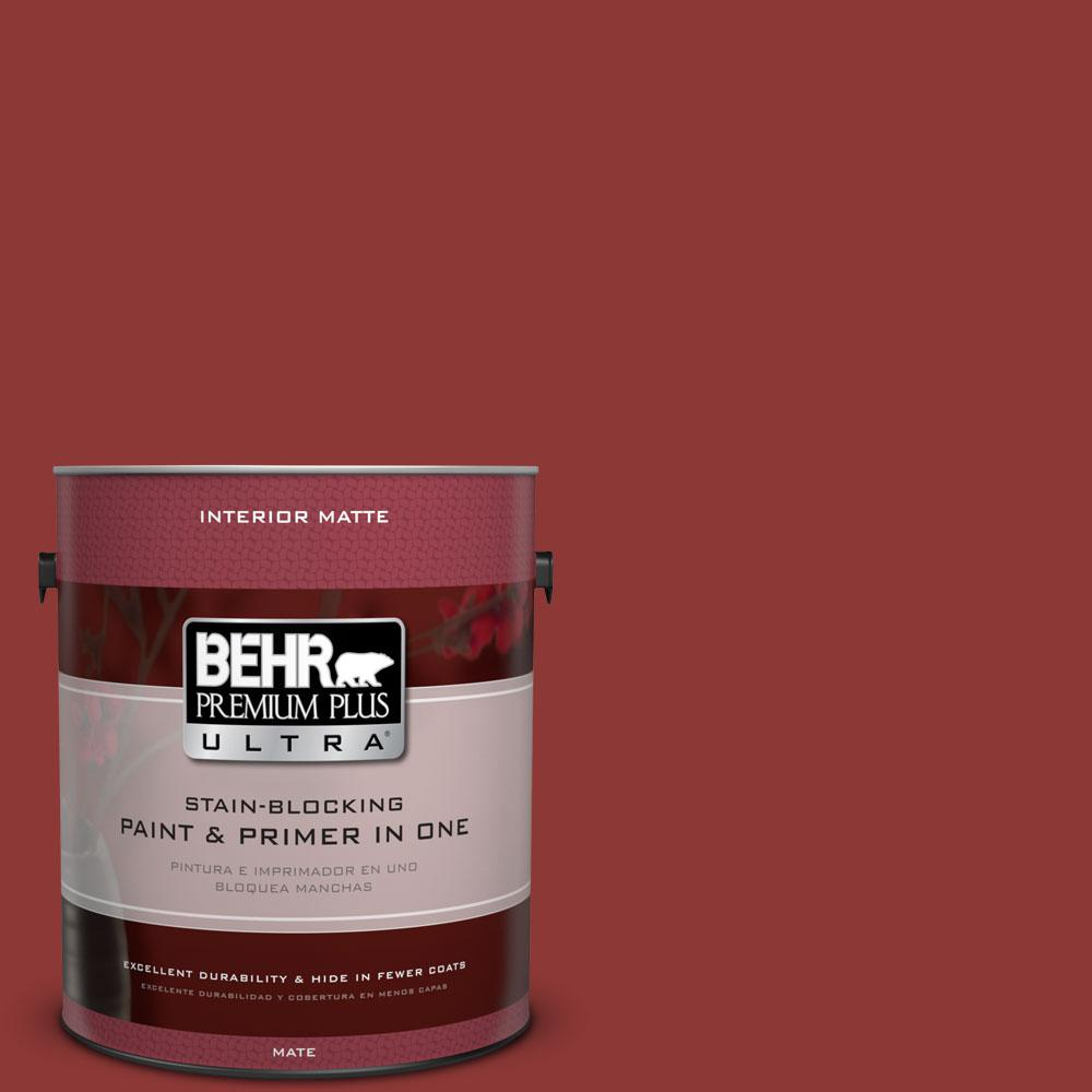 1 gal. #PPF-40 Rocking Chair Red Flat/Matte Interior Paint