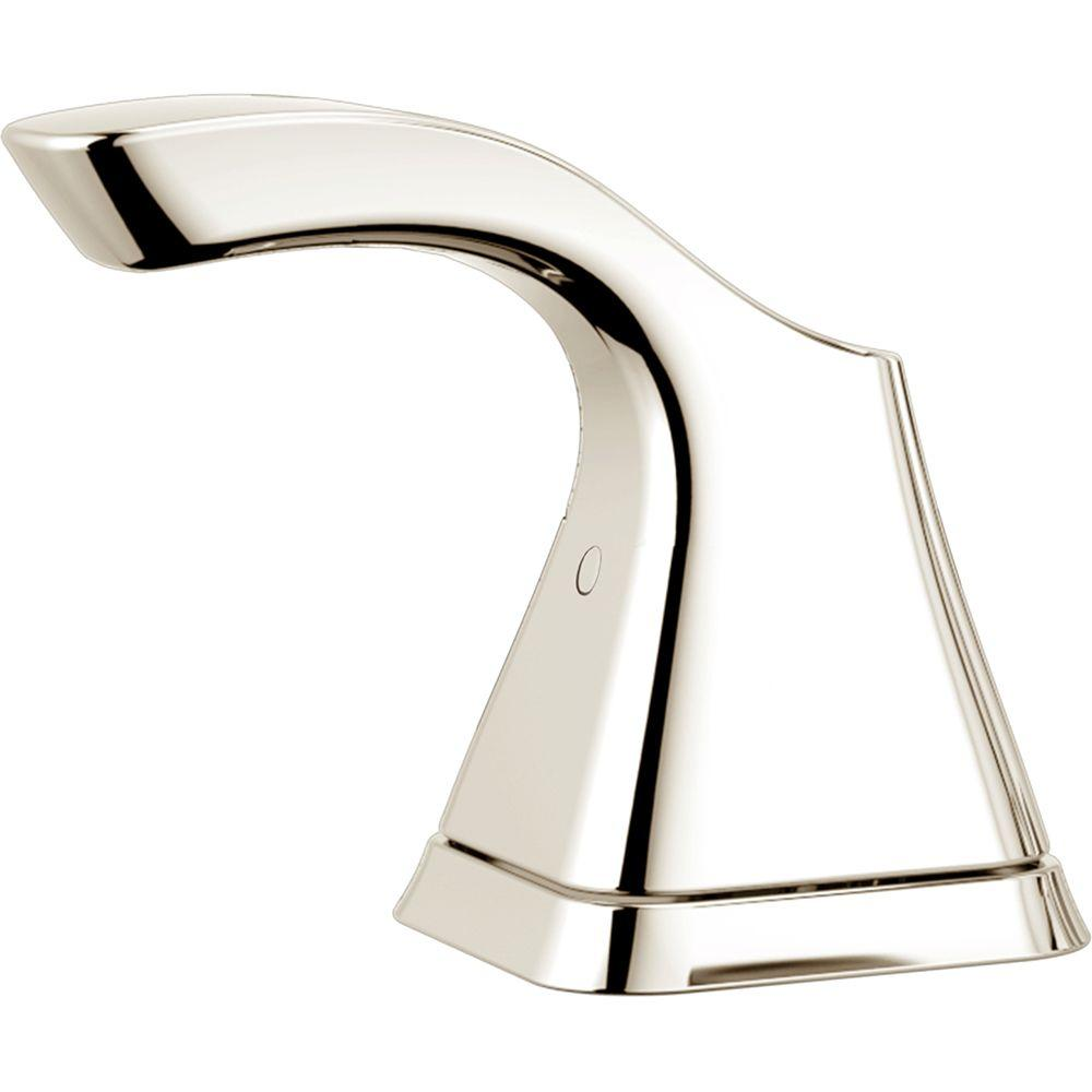 Tesla Single Lever Handle for Tub and Shower Faucets in Polished