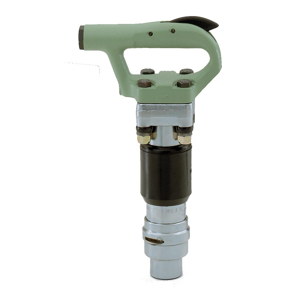MCH-2 Air Powered Round Chuck Chipping Hammer with Oval Collar Retainer