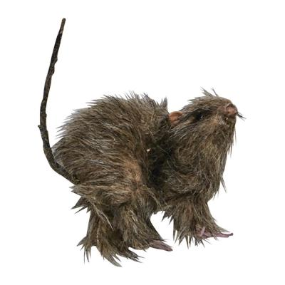 5 in. Small Furry Rat (6-Set)