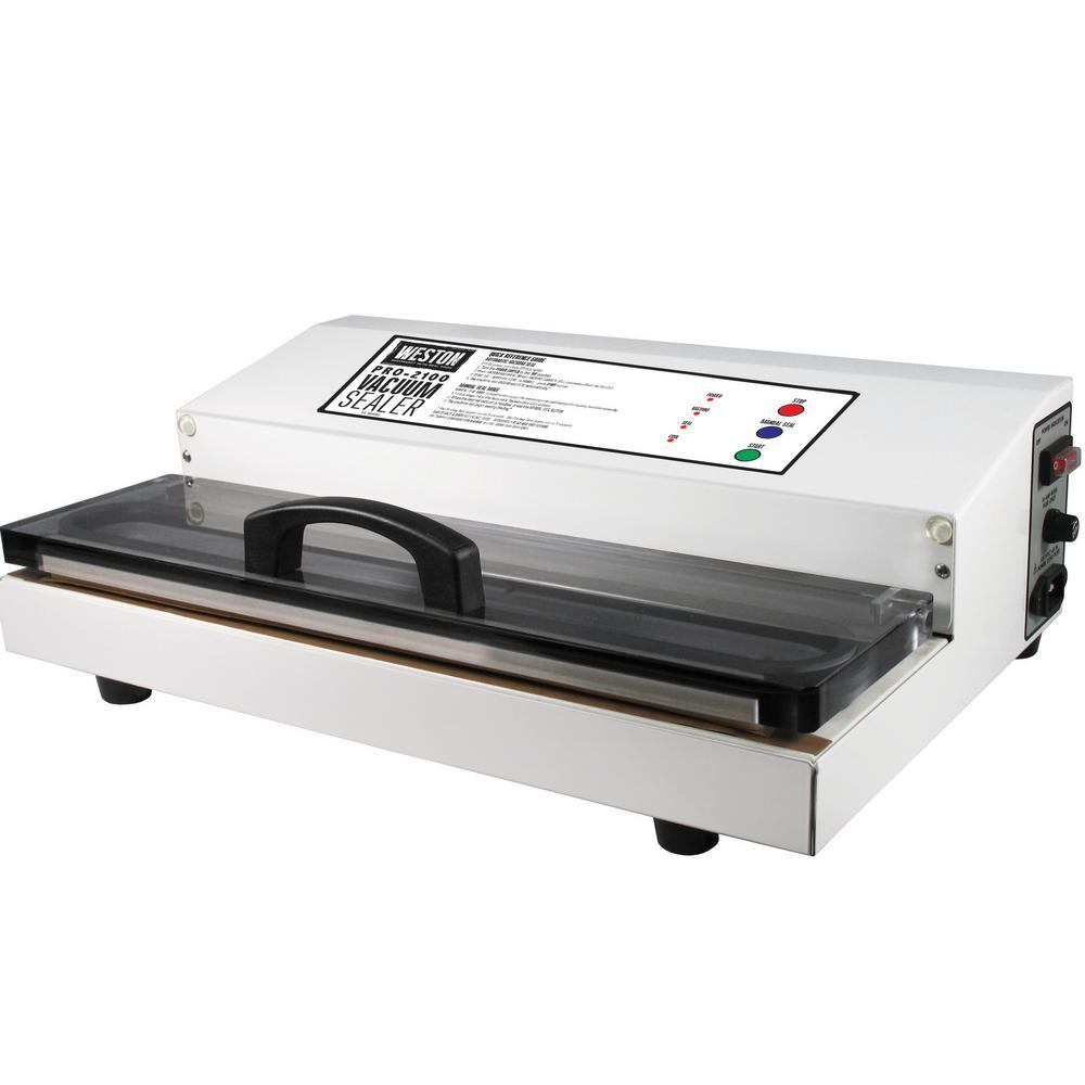 Pro-2100 White Food Vacuum Sealer