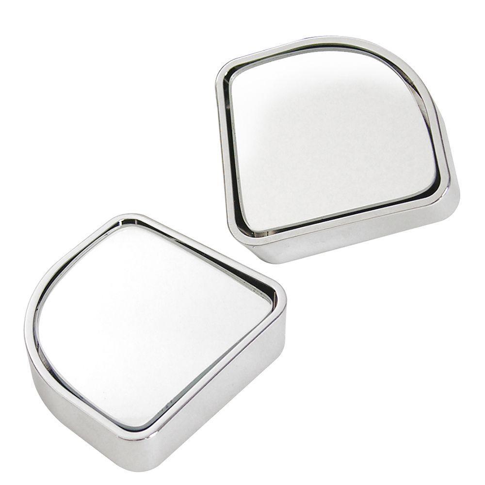 custom accessories 2 in chrome blind spot mirror 2 pack 71173 rh homedepot com