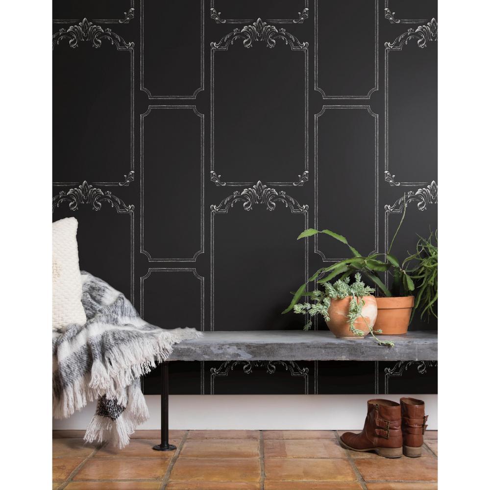 Magnolia Home Chalkboard Removable Wallpaper