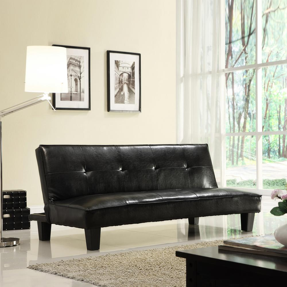 HomeSullivan Dark Brown Futon
