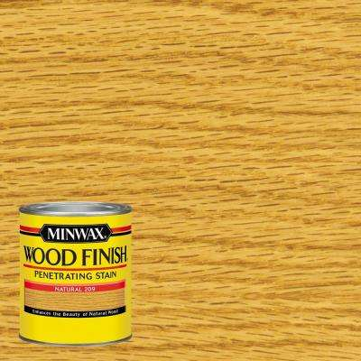 1-qt. Wood Finish Natural Oil Based Interior Stain (4-Pack)